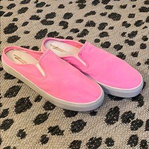 American Eagle Pink Slip-on Sneakers